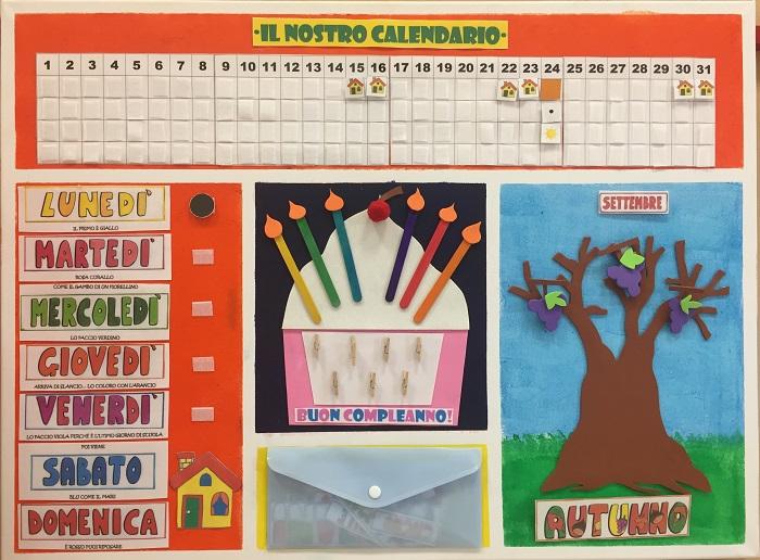 Calendario Scuola Infanzia.Attivita Della Scuola Dell Infanzia